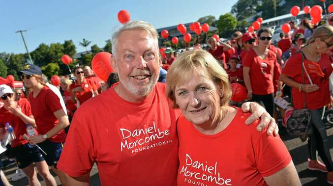 Annual Day for Daniel walk held in Palmwoods by Daniel Morcombe foundation. Bruce and Denise Morcombe.