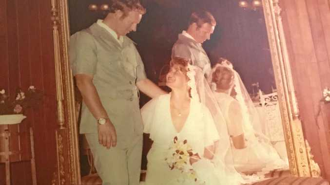 ANNIVERSARY: Shirley and Alan Pitts are celebrating 40 years of marriage. This was their wedding day on January 21.