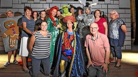 Cast and crew of Shrek Jnr.
