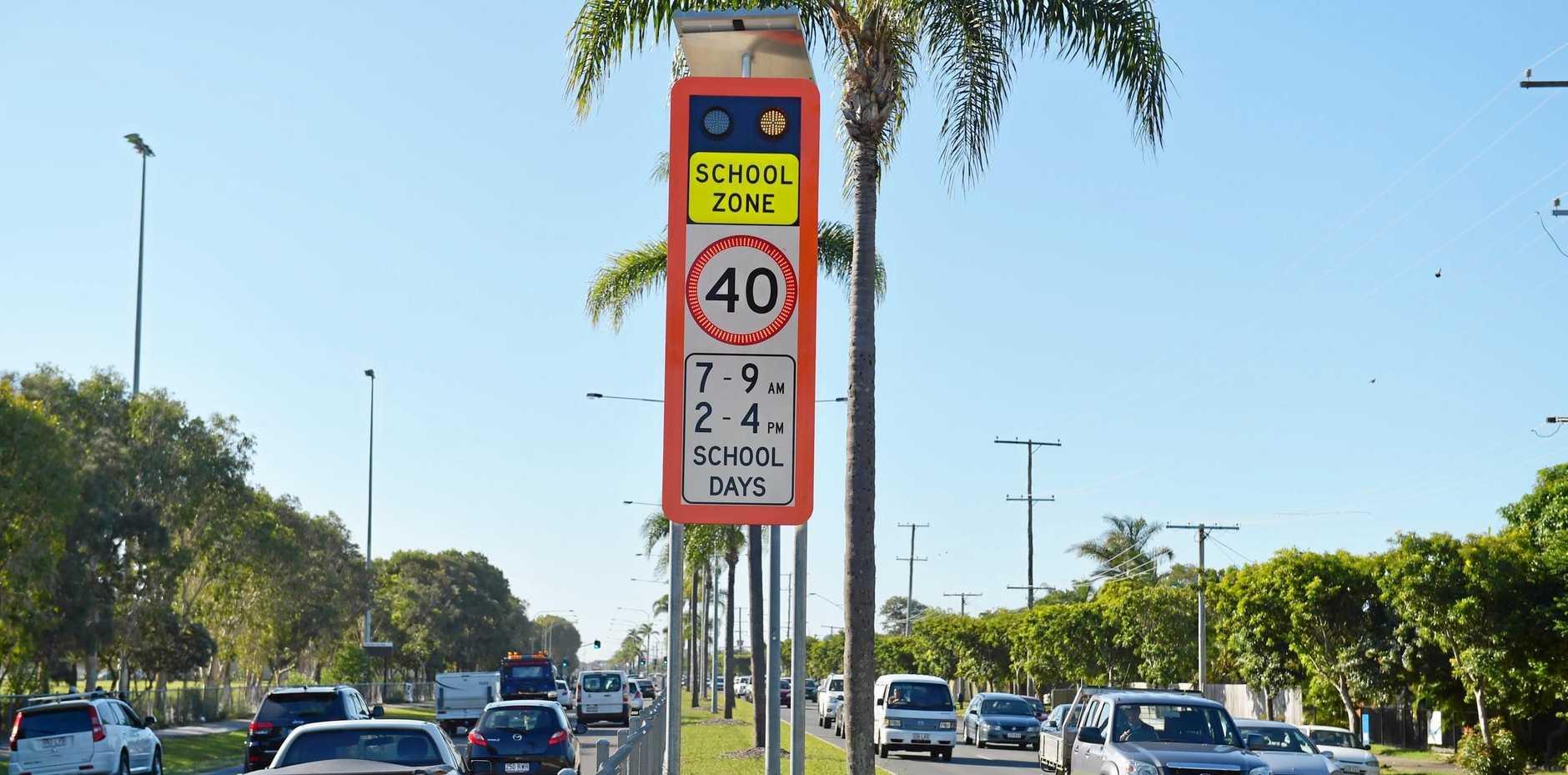 FILE PHOTO: Drivers speed through Coast school zones.