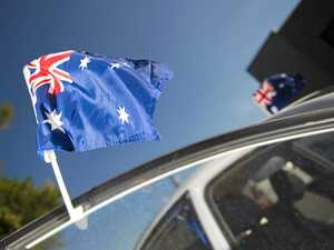 Flying the flag for China on Australia Day