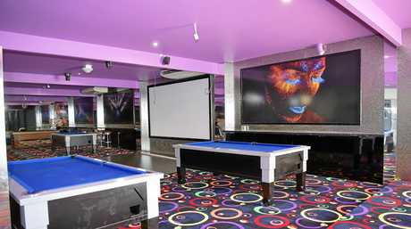 Pool tables and a dance floor will be features of Spinners Bar and Bowl when it opens next month in Maroochydore.