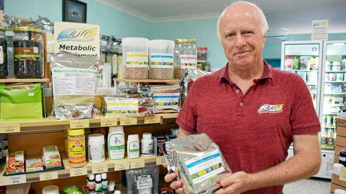 HEALTHY LIFESTYLE: Rockhampton Health Options' Peter Lewis has practised naturopathy for the past 35 years.