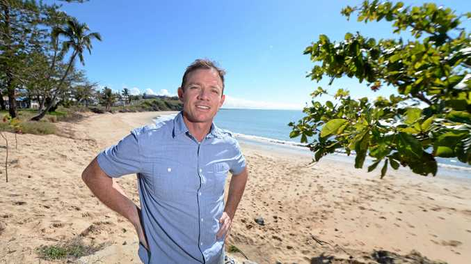 MOVING FORWARD: Adam Belot (pictured here at Cooee Bay) is calling for changes to how we celebrate Australia Day. Photo: Chris Ison / The Morning Bulletin