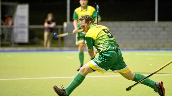 LOCKED IN: Joel Helmstedt is the sole nominee for the Senior Sportsperson of the Year award.