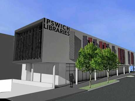 An artist's impression of the new Springfield Library due to open in July 2018.
