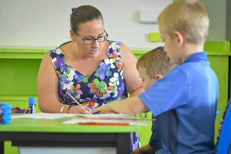 Kaylee Fechner is the principal teacher of Builyan State School in the Boyne Valley.