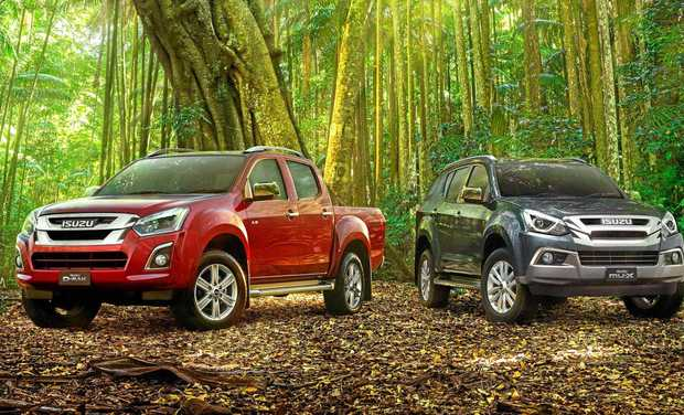 Isuzu D-MAX will be in the middle of the reality TV action this year.