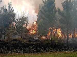 Warwick warned as bushfire risk soars amid hot weather