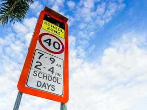 Reminder to slow down in school zones