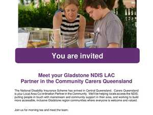 Meet your Gladstone NDIS Partner in the Community, Carers Queensland.