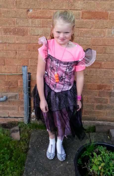 Mylee Billingham was found covered in blood at the bungalow. Picture: Facebook