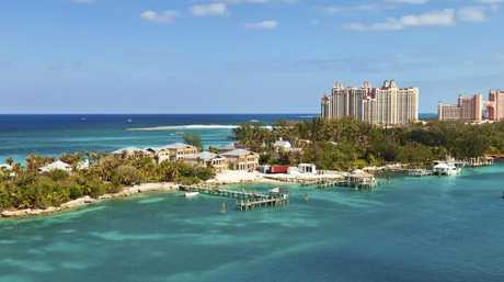 The Bahamas is a favoured destination of cruise ships. Picture: iStock