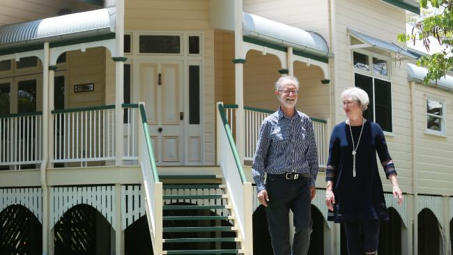 Rod and Kathy O'Connell have sold their home in Chelmer. Image: AAP/Claudia Baxter.