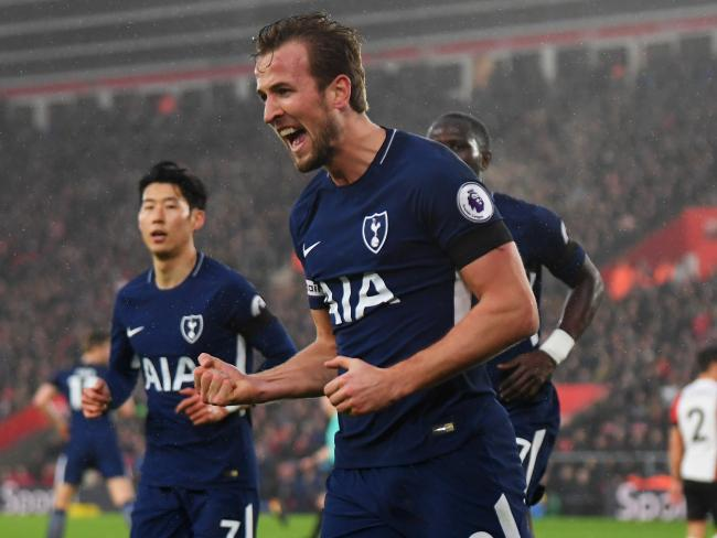 Harry Kane of Tottenham Hotspur.