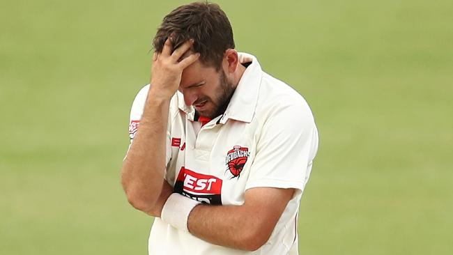 Chadd Sayers is not happy over his omission from the Australian squad.
