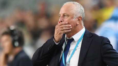Sydney FC coach Graham Arnold. (AAP Image/David Moir)