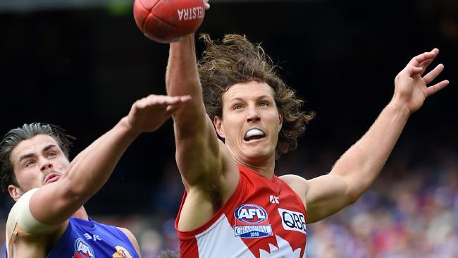 Kurt Tippett has retired from the AFL. Picture: Nicole Garmston