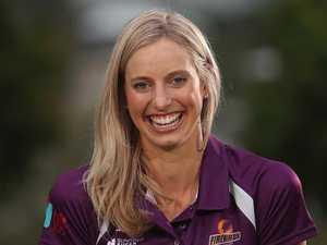 New mum Laura Geitz praises netball for support