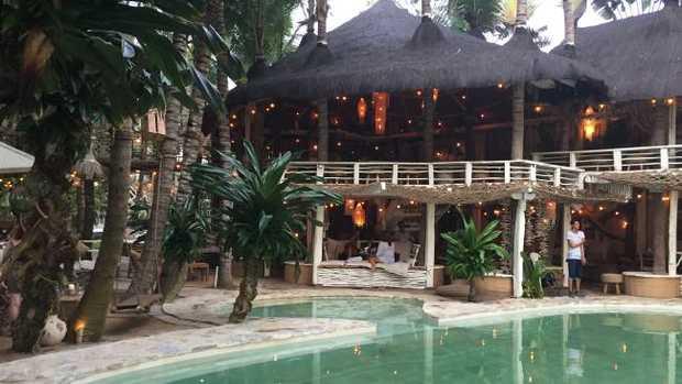 Bali's new La Brisa beach bar.