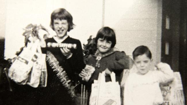 A previously unseen photo of the missing Beaumont children. Picture: Campbell Brodie.