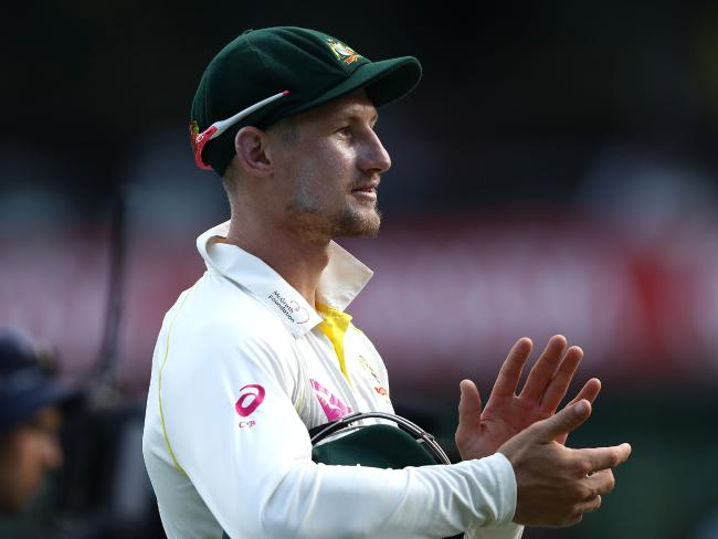 Cameron Bancroft was unbeaten on the opening day.