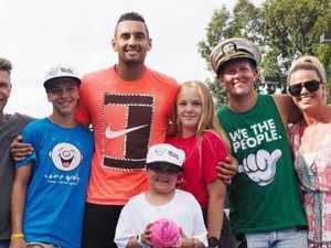 The side of Nick Kyrgios you don't see