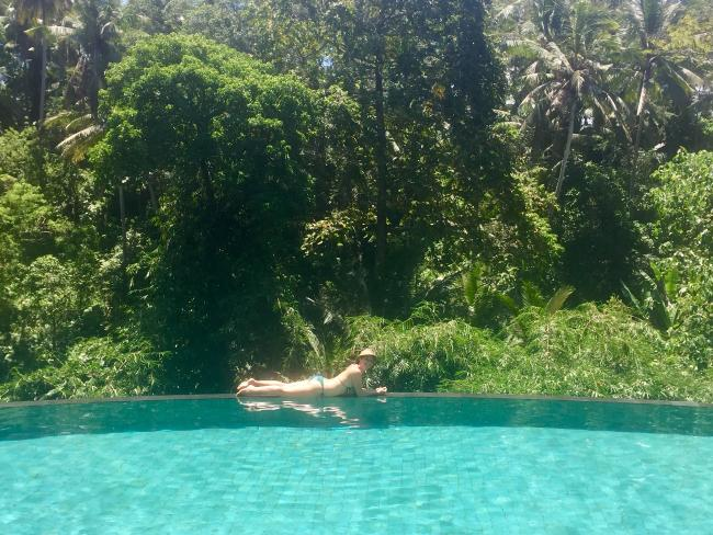 A Bali infinity pool experience: A must for your Insta feed.