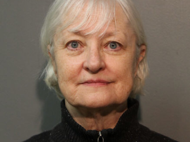 Marilyn Jean Hartman was arrested at Chicago's O'Hare airport on January 18 local time. Picture: Chicago Police Department via AP