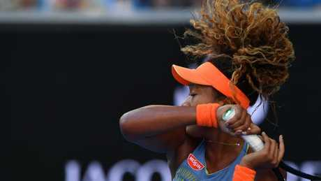 Japan's Naomi Osaka lost no fans in her inspiring Aus Open run. Picture: AFP