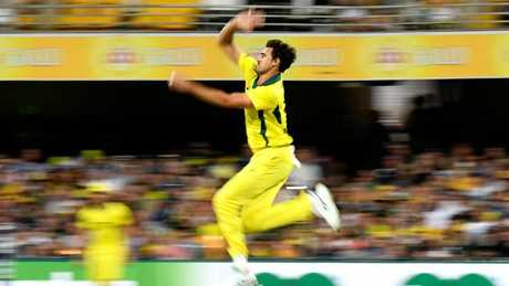 Australia's fast bowling depth has been exposed during the ODI series.