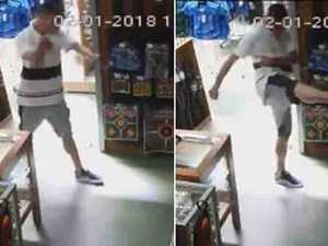 WATCH: Man tries to rob store with hilarious kung fu skills