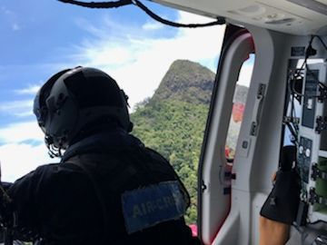 The Westpac Life Saver Rescue Helicopter has been called to Wollumbin National Park, where a hiker is injured.