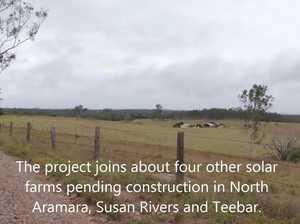 Text video: Munna Creek Solar Farm