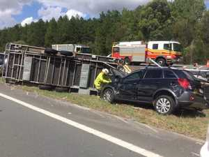 TRAFFIC GRIDLOCK: Major delays after Bruce Hwy crash