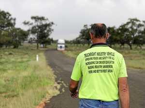 One truckie's battle for better rest stops