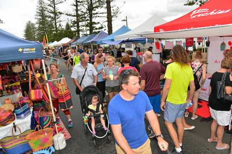 Get in the action at the Caloundra Twilight Markets.
