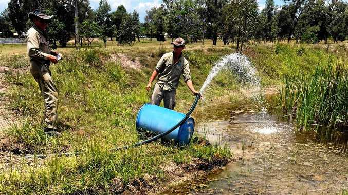 VITAL: Toogoolawah Golf Club has established a second bore to manage its water situation.