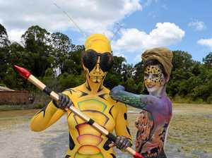 Go wild at Australian Body Art Festival