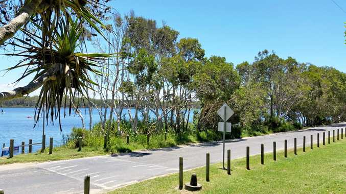 There has been a lot of controversy about plans to close the eastern road at Lake Ainsworth.