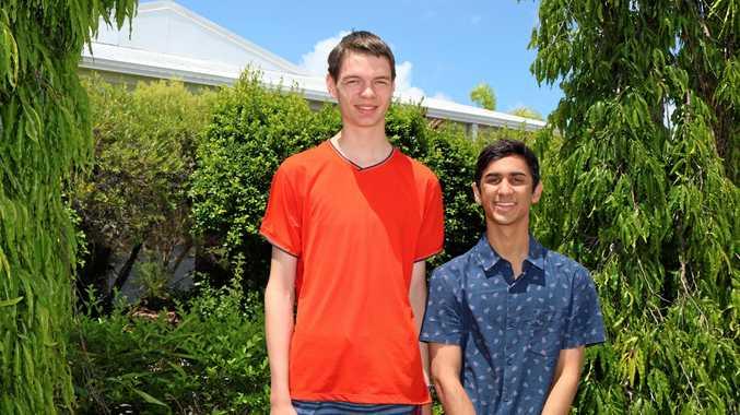 OP1 recipients Ryan Olsen and Saad Ashraf.