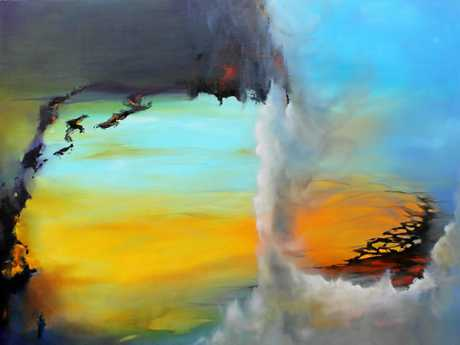 Alan Pirie's A New Day:  910 x 1220mm oil on canvas.