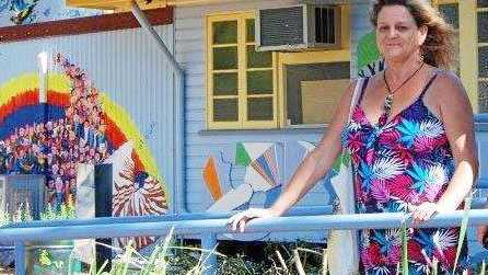 Robyn Campbell pictured at the Community Centre in Queen Street, Yeppoon
