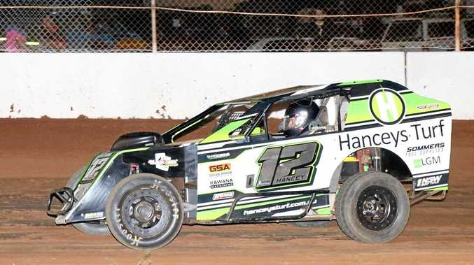 SPEED DEMON: Modlite racer Klinton Hancey will compete at the Australian Titles, to be held at Tamworth's Oakburn Park Speedway over the Australia Day long weekend.