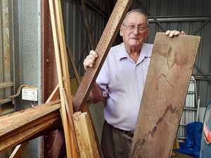 Retired builder offers tools, timber to rebuild shed