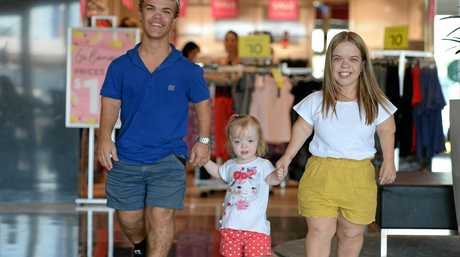 INSPIRING: Bailey Connor, Maggie Allridge and Taneya Shannenare have all been involved in Dwarfism Awareness Month.