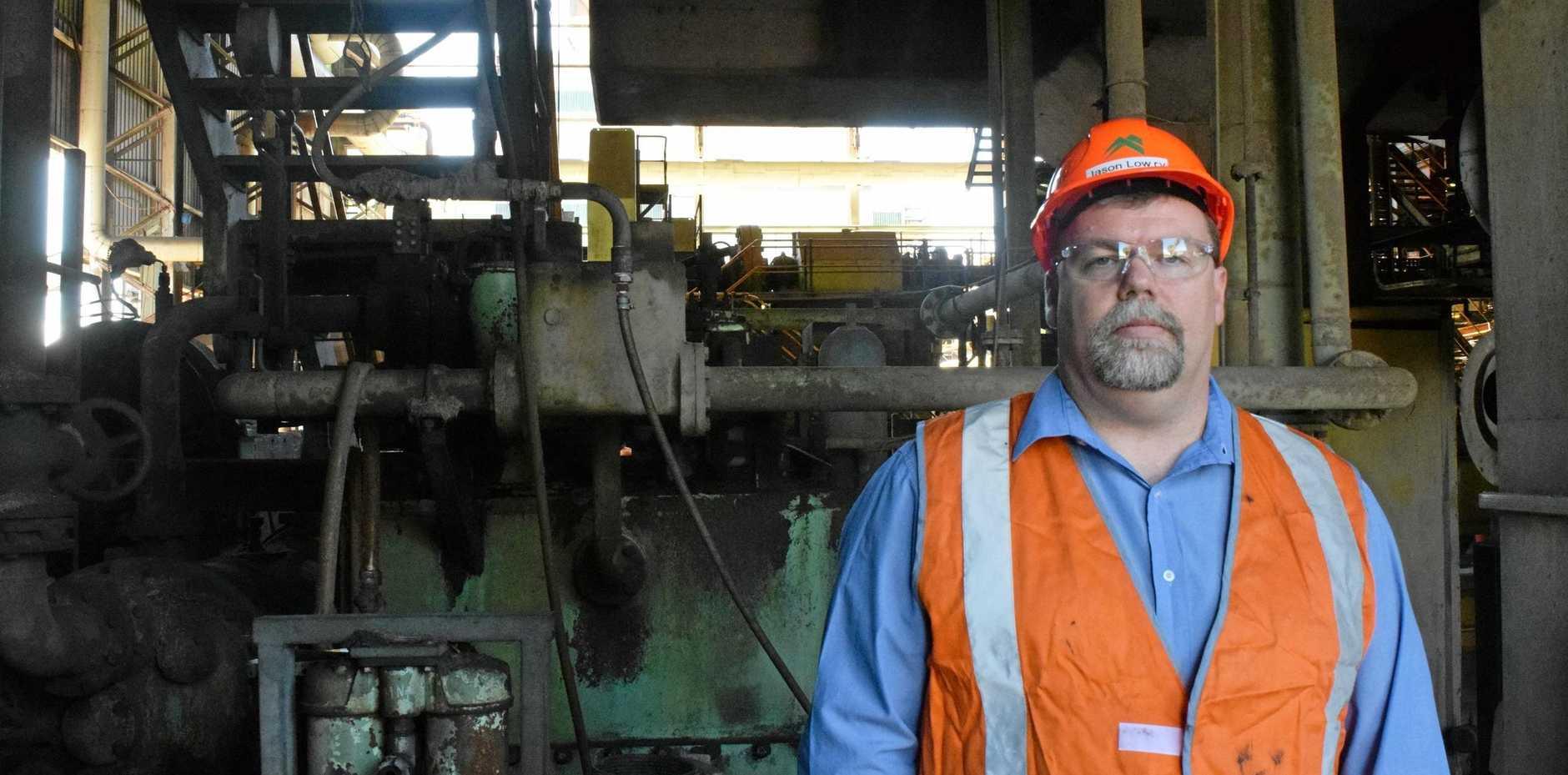 Mackay Sugar chief executive officer Jason Lowry.