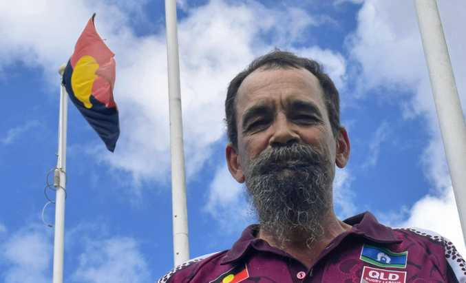LOOKING FORWARD: Gympie emerging elder Russell Bennet says any decision on the Australia Day date will benefit Aboriginal people.