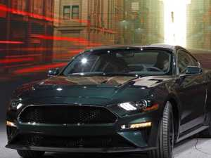Ford's 2018 Mustang Bullitt is living up to the hype. Picture: AFP