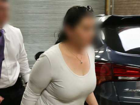 Members of the NSW Joint Counter Terrorism Team have arrest the woman today. Picture: NSW Police